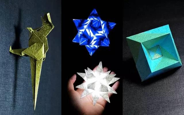 折纸雪花步骤图解
