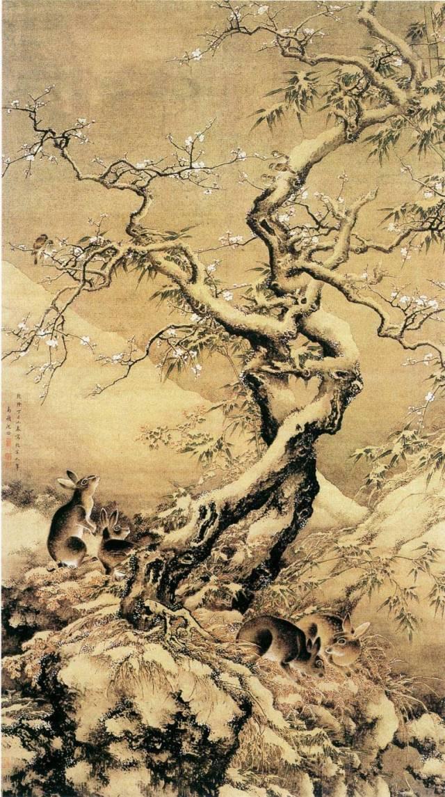 今日与大家一起来欣赏中国历代名家画的最美梅花图片