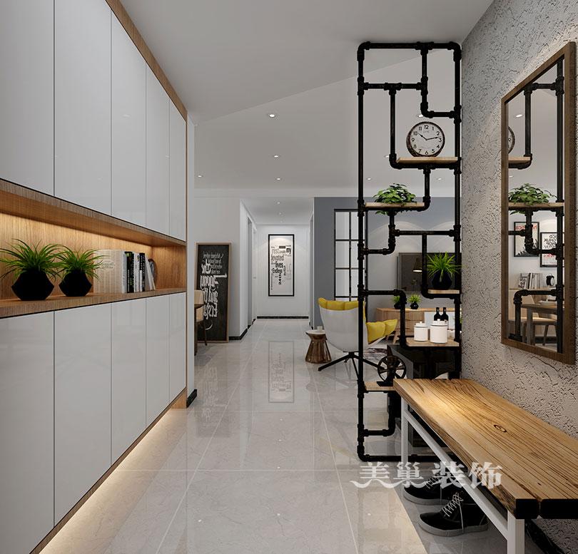 郑州康桥悦岛三室两厅装修设计方案