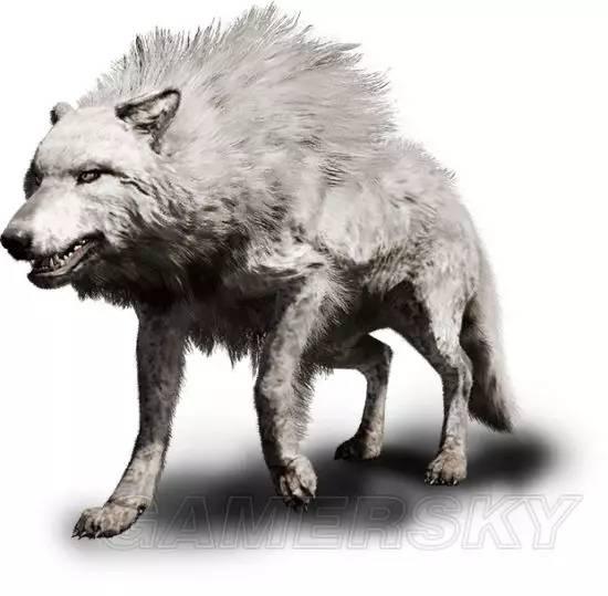 在猛犸象和剑齿虎等史前动物灭绝后,恐狼依然存在了很长一段时间.