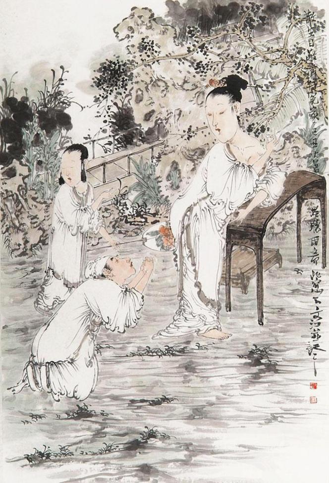 书画名家张文江艺术赏析