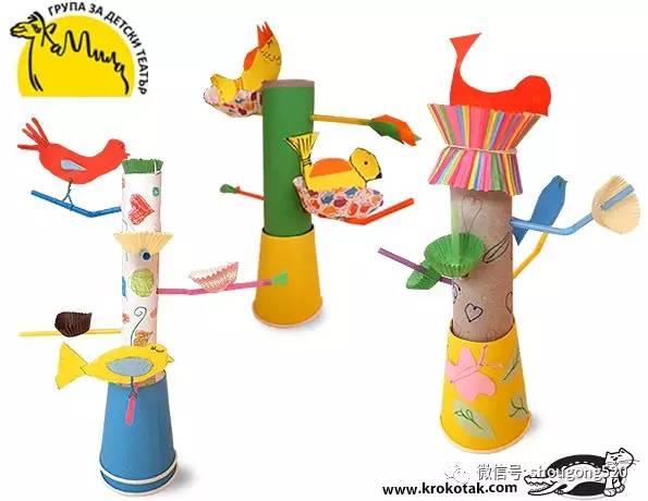 幼儿园手工创意制作,开学必备!(附教程)