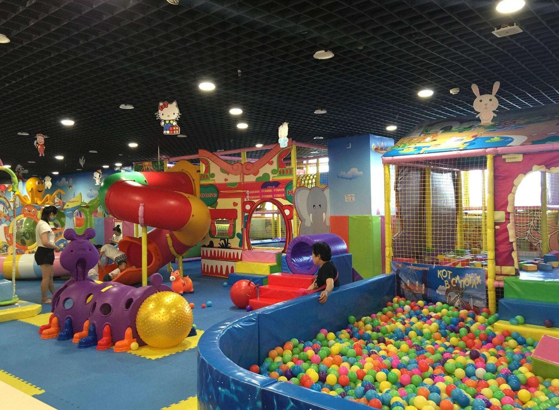 150平左右的室内儿童乐园投资费用多少钱