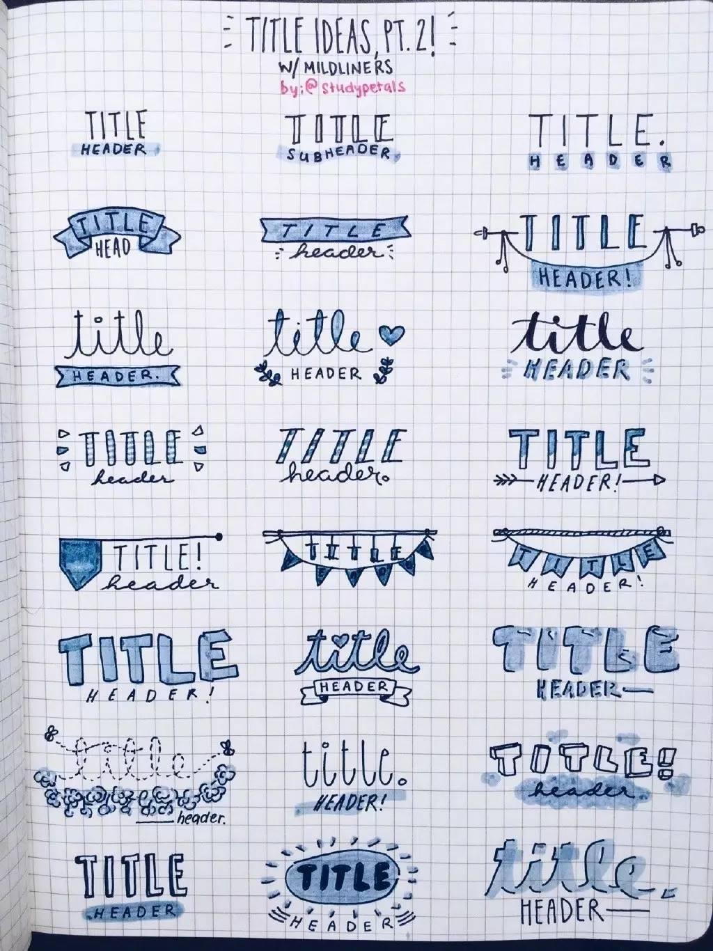 手账简笔画素材 一组手帐装饰涂鸦小元素