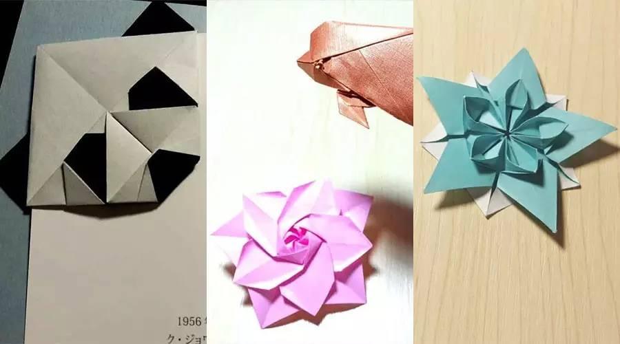 蝴蝶立体折纸步骤图解