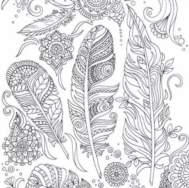 黑白具象手绘图