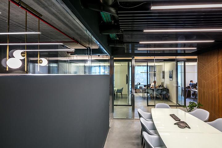 1400平事务所办公室装修