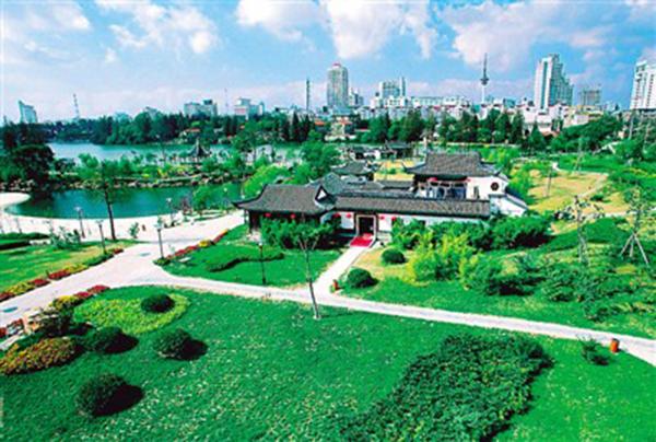 唐闸公园平面图