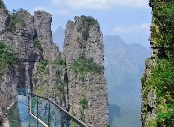 平南大鹏北帝山打造5A级旅游景区项目开始了,期待玻璃桥图片
