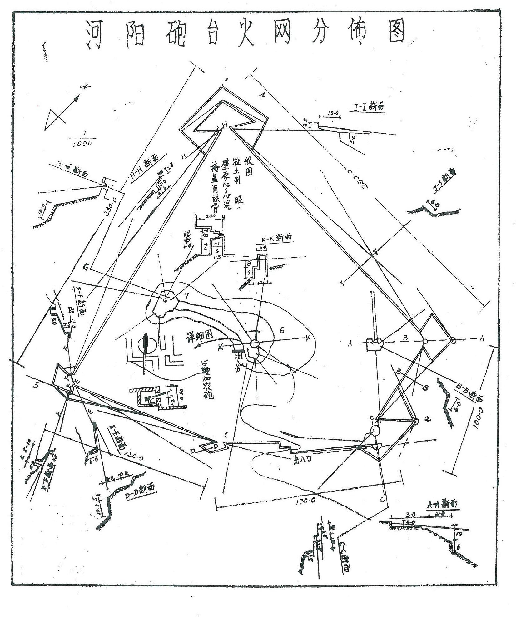 地图 简笔画 手绘 线稿 1652_1976