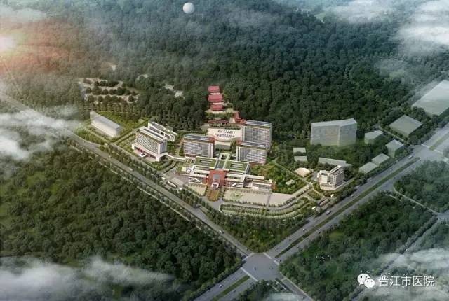 未 来 可 期 市医院迁建项目总用地面积303.2亩,总体规划设置病床1988张,总建筑面积25.6万平方米,分两期建设,建安总投资估算14.4亿元。项目一期建设床位1305张、总建筑面积约19.4万平方米、建安投资估算约10亿元,主要包括妇儿中心楼、门诊楼、医技楼、急诊急救中心、外科住院楼、内科住院楼、教学楼、感染楼、高压氧和核医学。二期建设床位683张,建筑面积6.