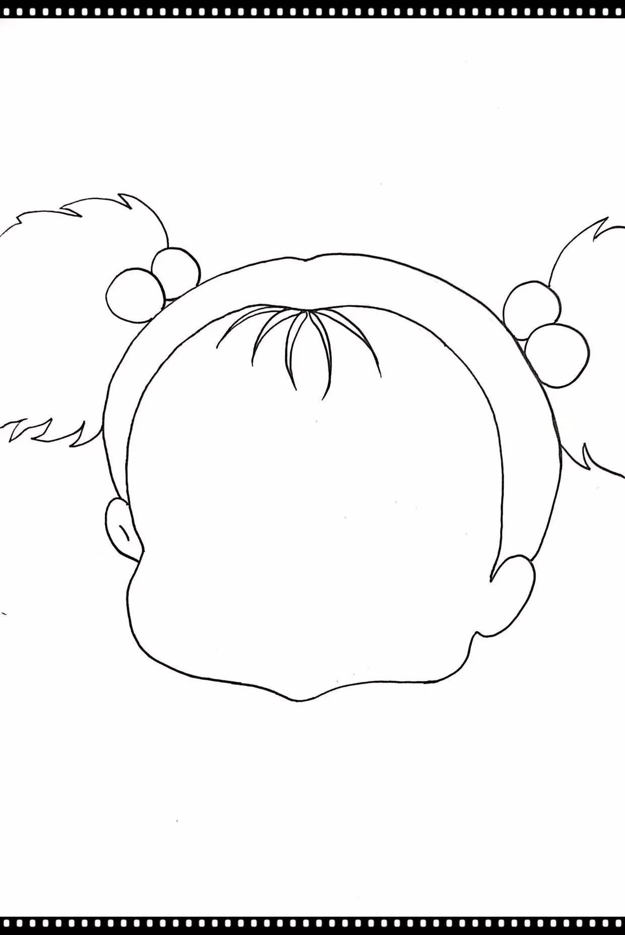 马克笔动漫教程 | 宫崎骏王国——《龙猫》小梅(刀刀手绘)_突袭动漫