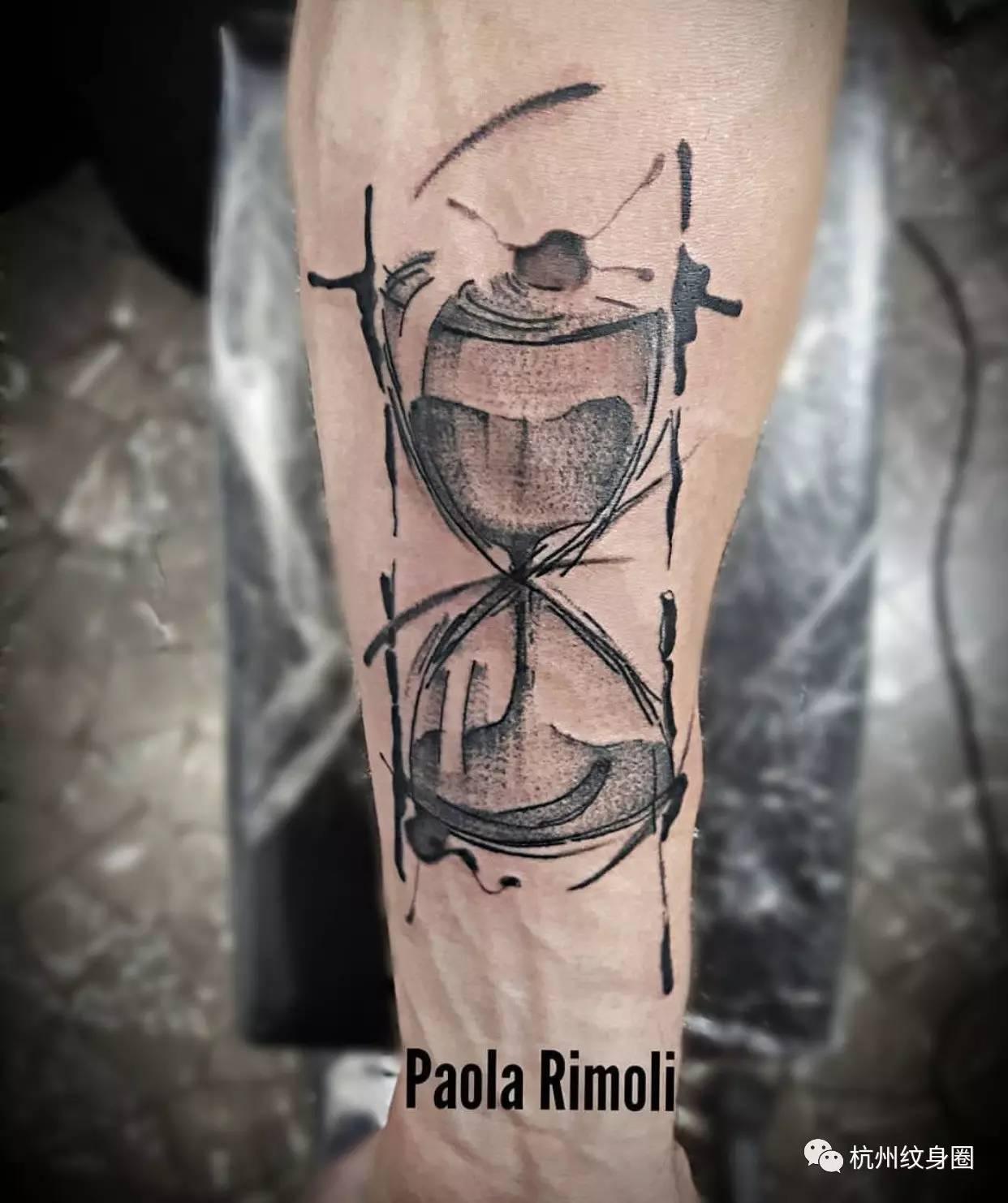 tattoo | 纹身素材:沙漏