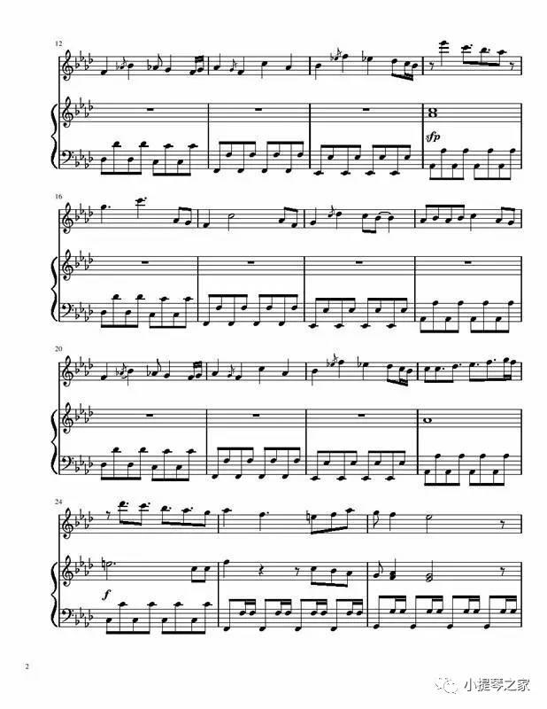 小提琴演奏名侦探柯南主题曲 如果有你在 ,附小提琴 钢琴谱
