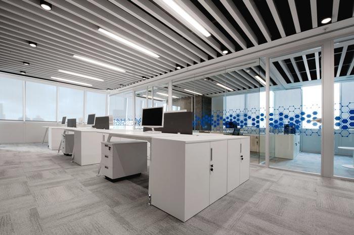 260平药品零售公司办公室装修设计