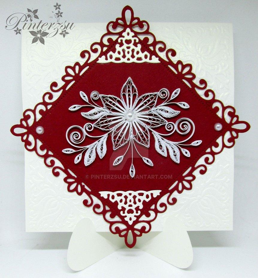 可以参考下面的花型来制作衍纸贺卡或用来装饰相框