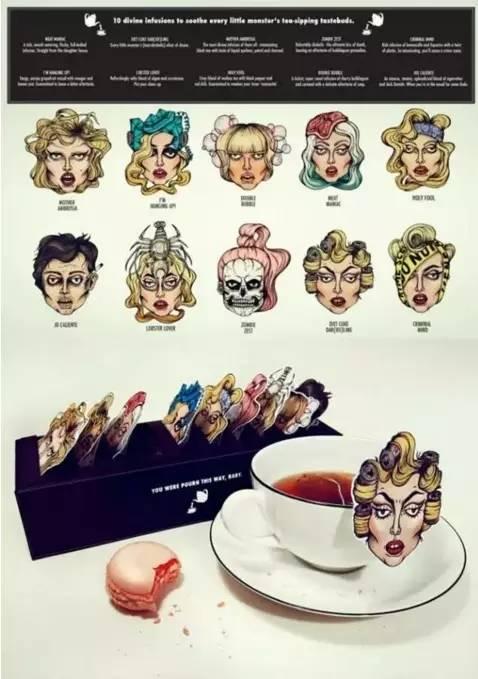 他们把喝茶都当成了艺术,精心设计的茶包让你都舍不得