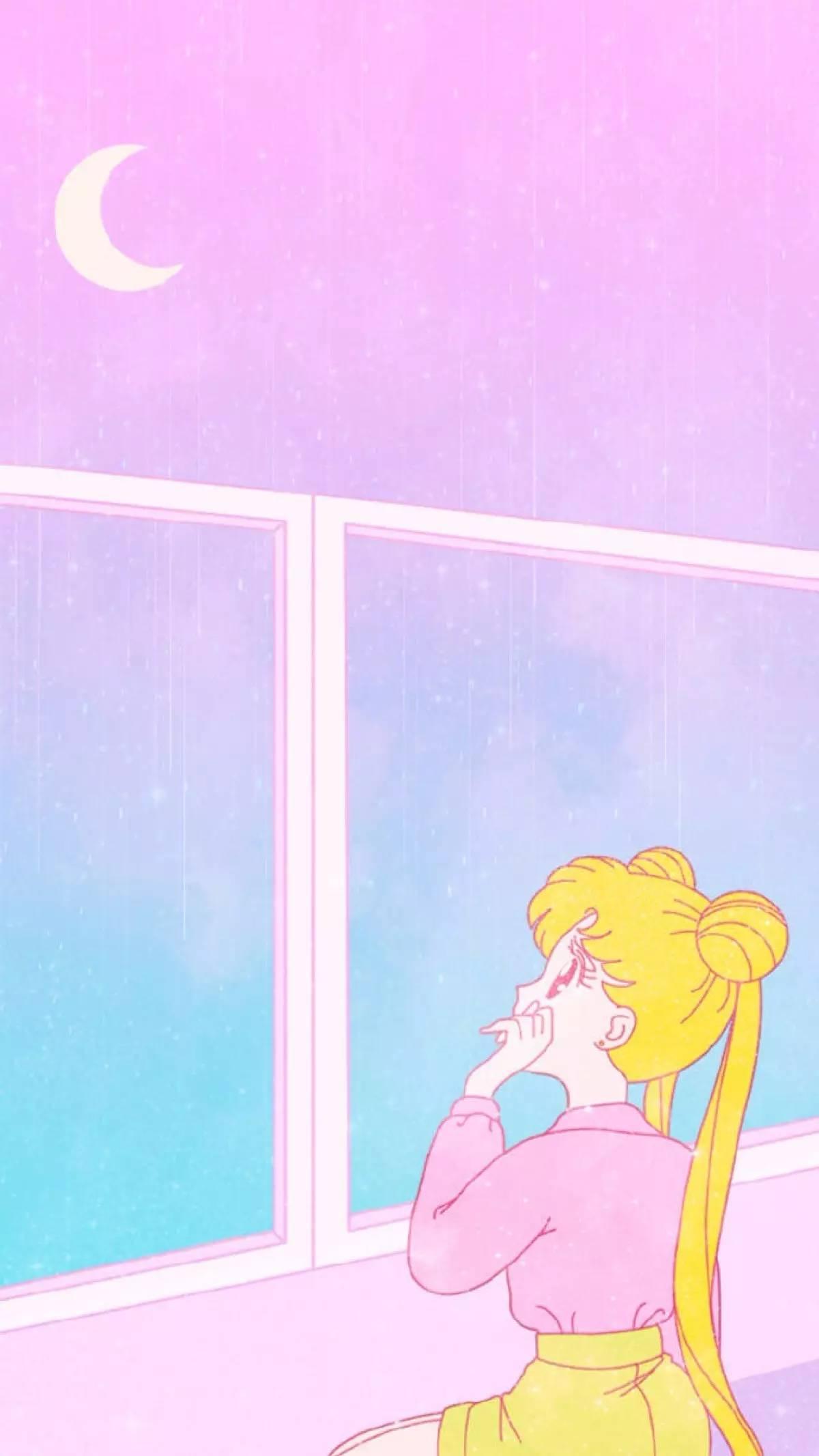 新一期美少女战士爱情故事系列锁屏壁纸来袭,快快接住