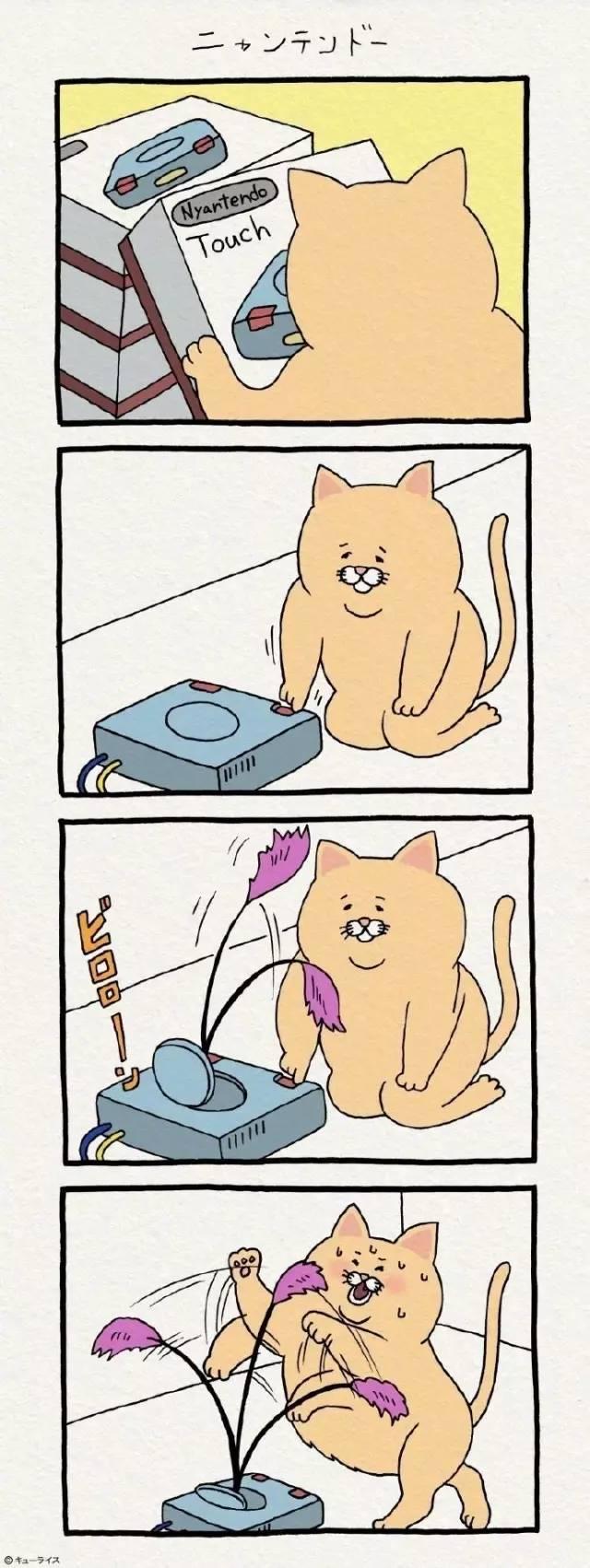 瘦猫图片大全可爱卡通