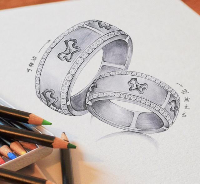 bloves   每年用掉1万多支铅笔,20多万张手绘图,只为坚持原创设计!