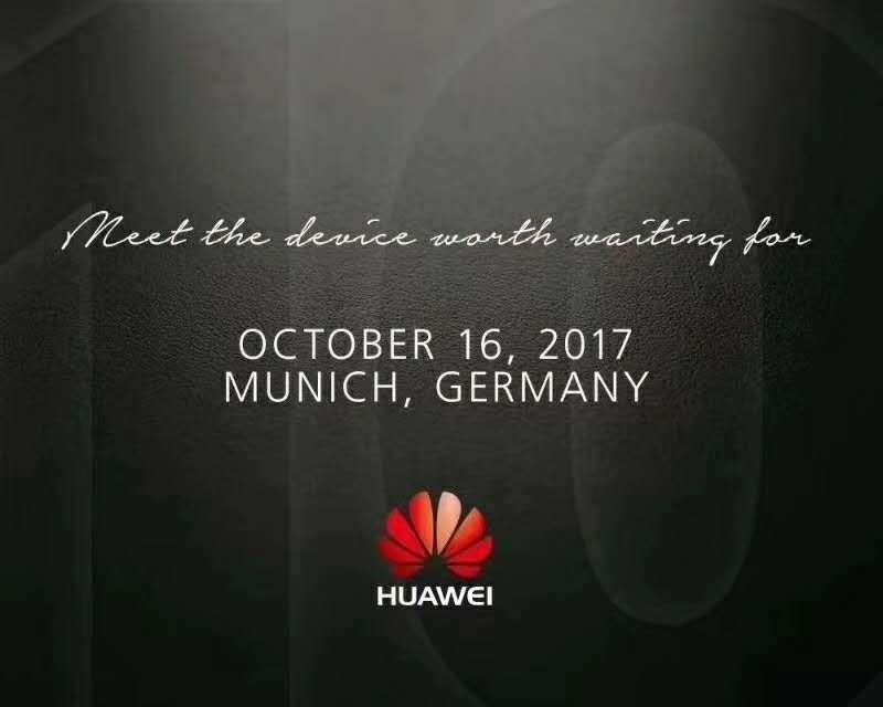 华为Mate 10发布时间确认!10月16日慕尼黑发布
