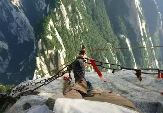 ,一条挂在 悬崖绝壁 上的天梯,你敢挑战吗
