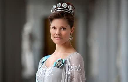 瑞典维多利亚公主与健身王子
