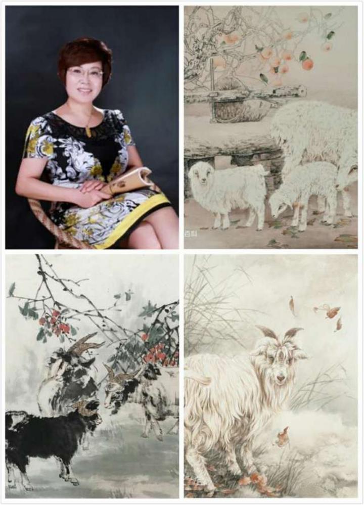 张秀萍,著名画家,中国美术家协会会员;中国工笔画协会会员;山西省