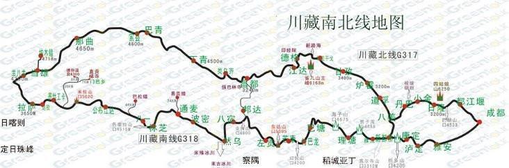 国庆川藏线自驾多少钱?路线怎么安排?