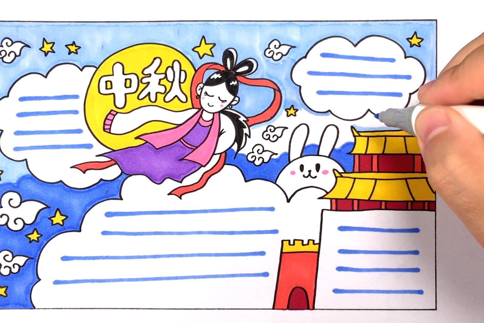 曲洲老师画卡通