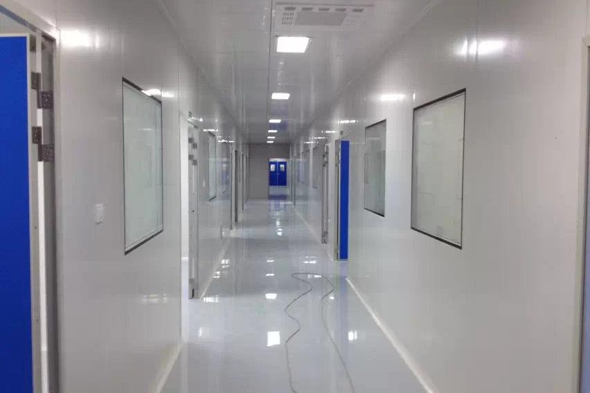 东莞福威净化设备鸿基洁净的洁净厂房施工介绍