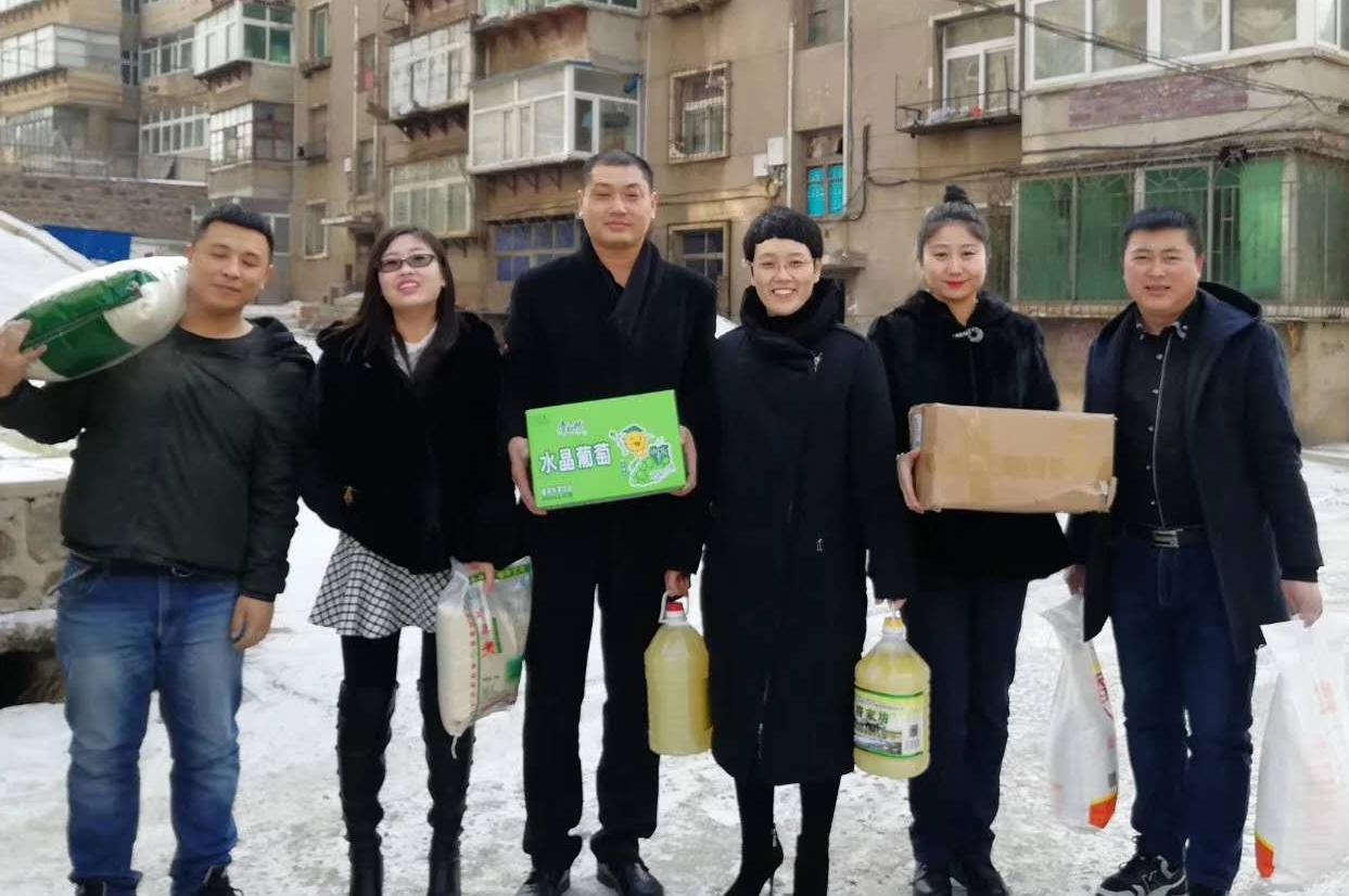 辽宁葫芦岛市龙港区工商联:这个冬天不冷