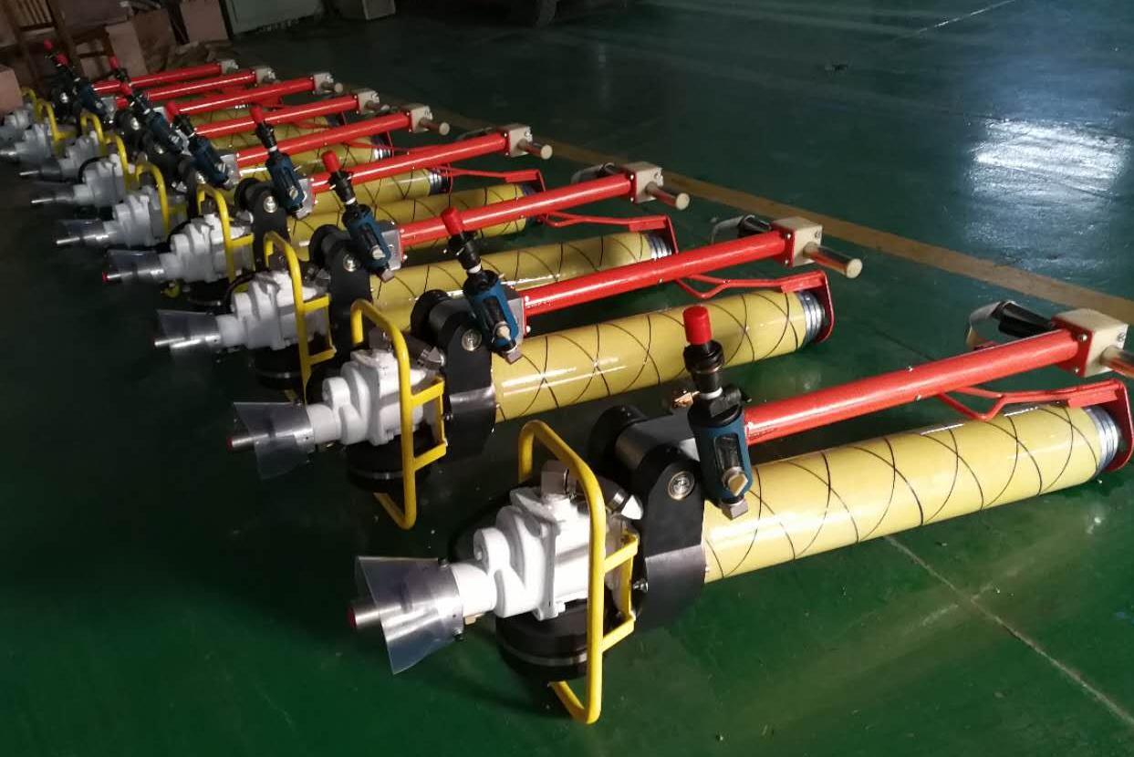 粗面岩隧道施工神器来了!墨隆气动锚杆钻机批量进驻张家口!图片