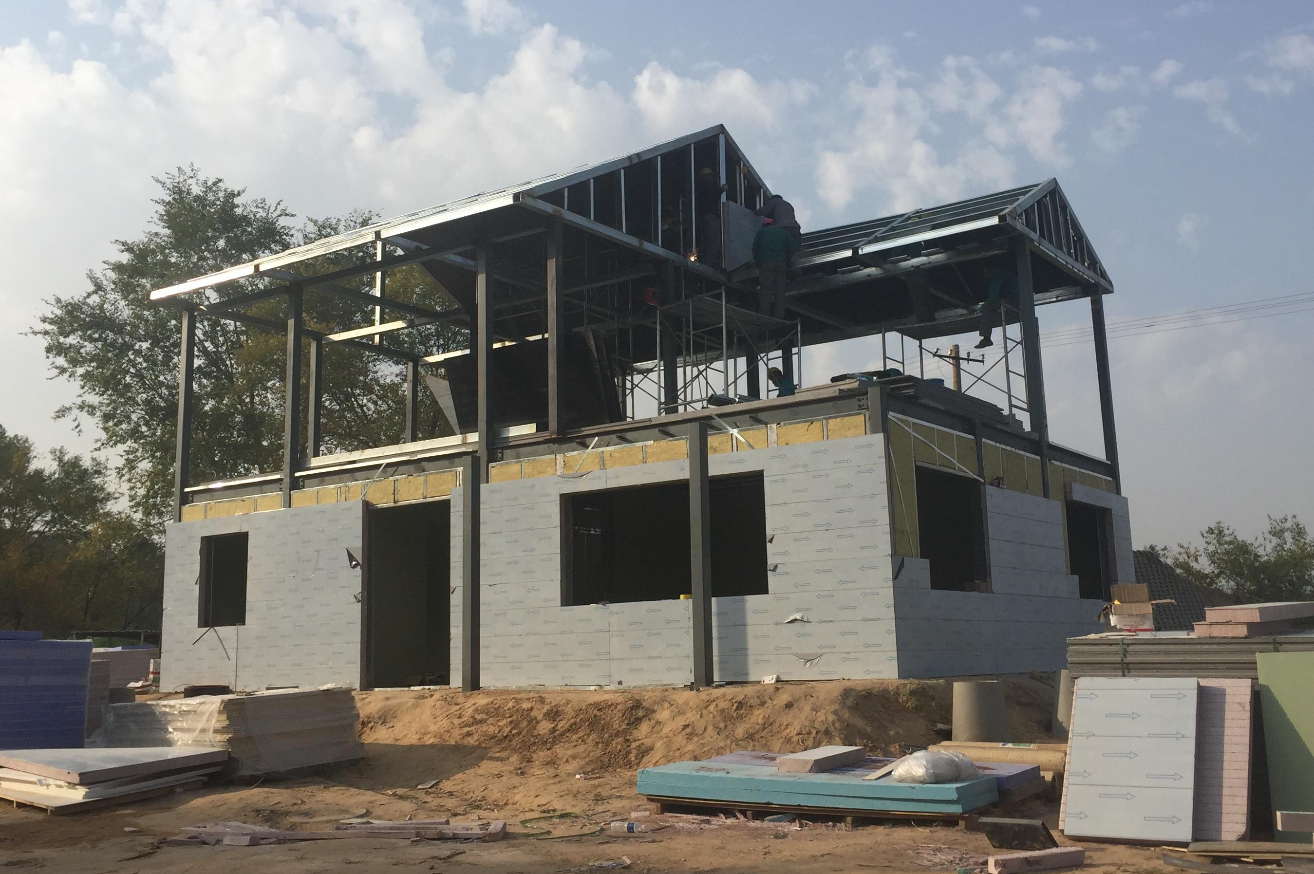 什么是轻钢结构房屋?