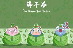 小仙女吃粽子不会胖的秘诀!