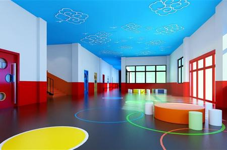 幼儿园室内背景墙布置方法,多样性很重要