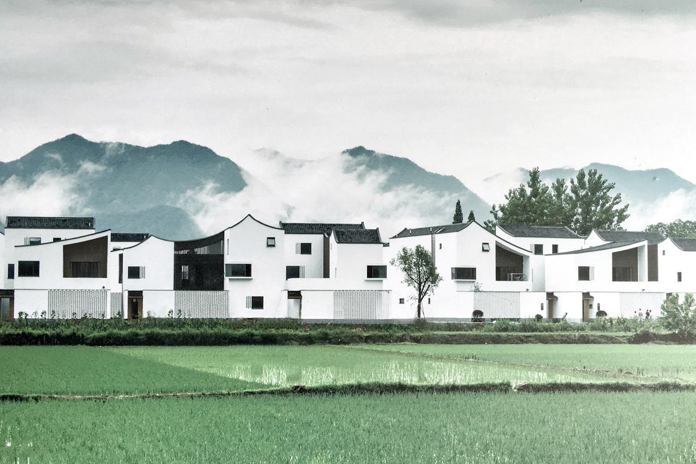 不二之选白墙工程,杭派新式视频黛瓦solidworks图群落教程农村图片