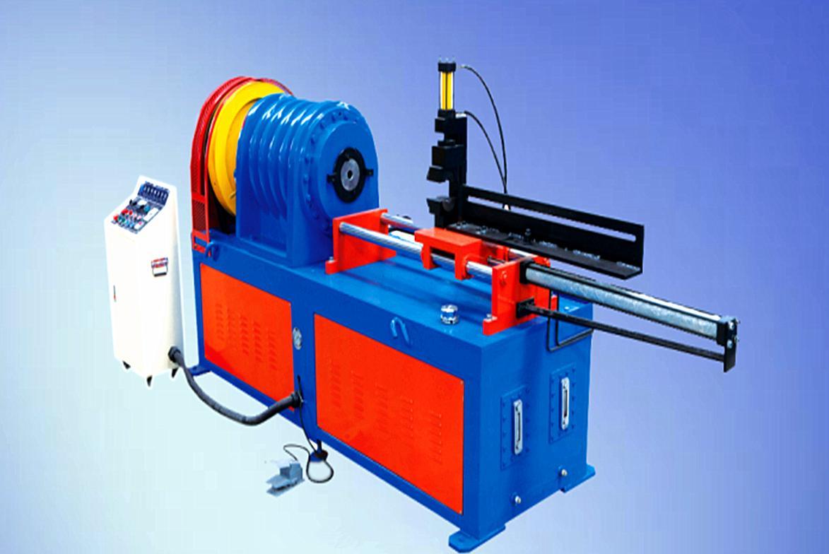 小导管缩尖机分为气动自动送料和手动送料两种类型,望广大客户知晓图片