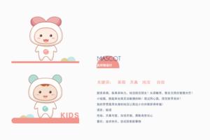 幼儿园品牌设计 吉祥物 赢得幼儿好感