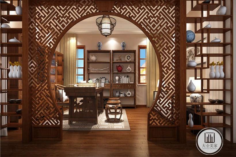 「新中式风格装修效果图」武汉别墅251㎡精湛雕琢的中国风!