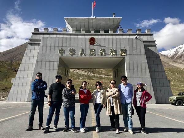 新疆喀什调研行之十:慕士塔格冰川公园,红其拉甫口岸图片
