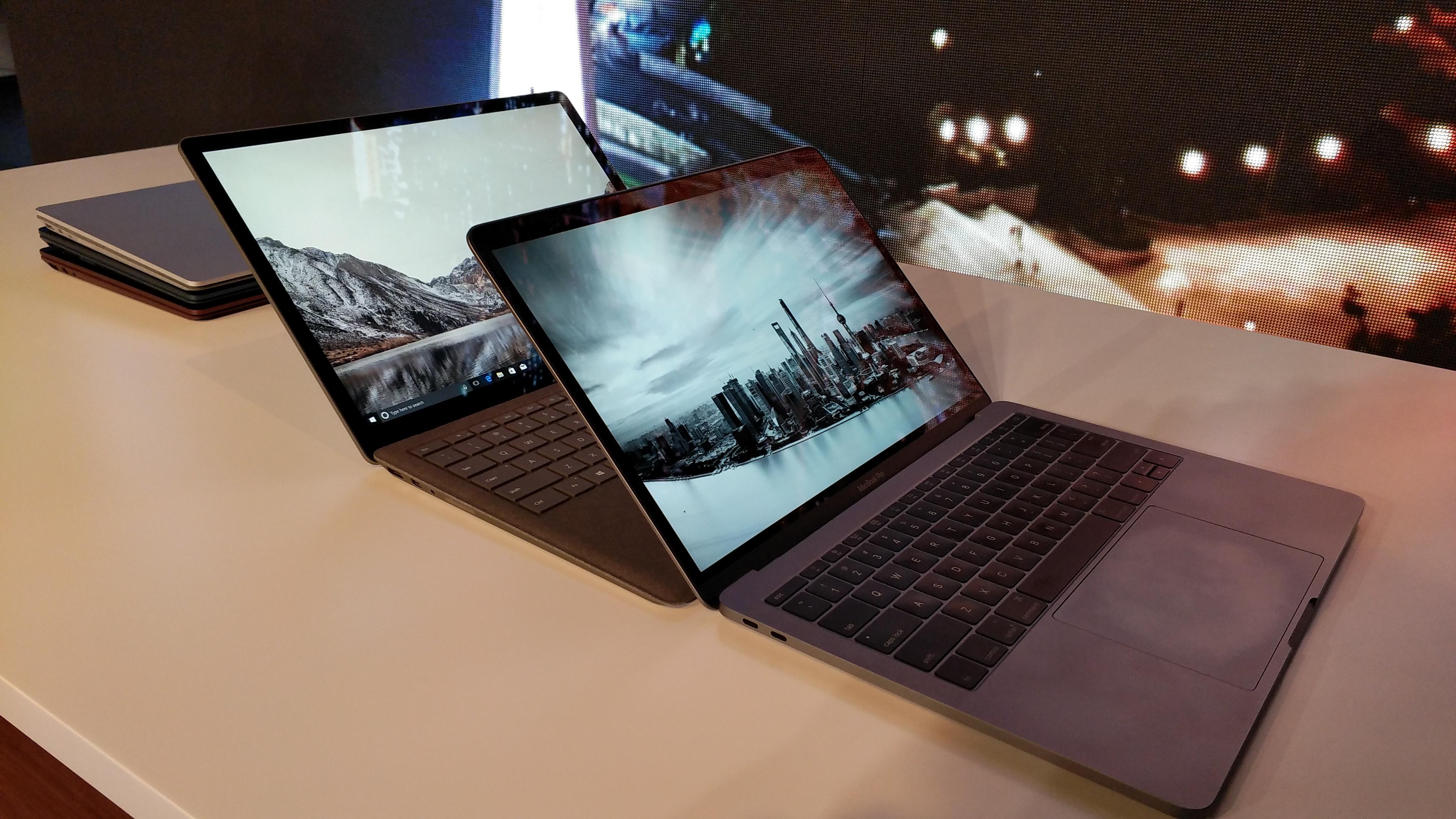 微软Laptop对比苹果新款MacBook,你会选择谁?的照片 - 7